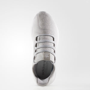 Mens Adidas Originals Tubular Shadow Shoe In Grey Crystal White
