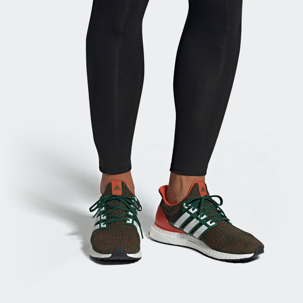 31c3cabe8 Mens Adidas Originals Ultraboost Shoe In Dark Green Cloud White Colleg -  Simons Sportswear