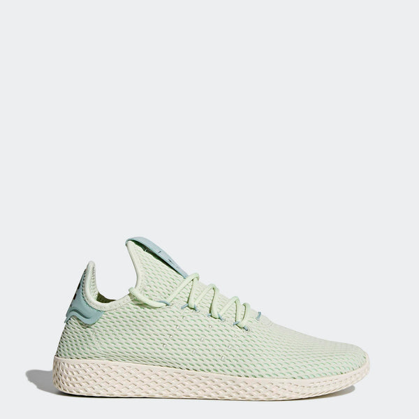 3229a80f8 Mens Adidas Pharrell Williams Tennis Hu Shoe In Linen Green - Simons ...