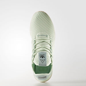 Mens Adidas Pharrell Williams Tennis Hu Shoe In Linen Green - Simons Sportswear