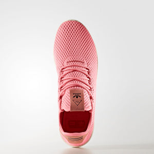 Mens Adidas Pharrell Williams Tennis Hu Shoe In Tactile Rose - Simons Sportswear