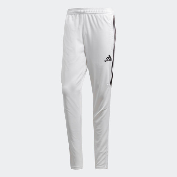 Mens Adidas Soccer Tiro 17 Training Pants Soccer Pants In White Black