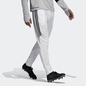 Mens Adidas Soccer Tiro 17 Training Pants Soccer Pants In White Black - Simons Sportswear