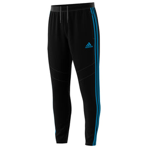 Mens Adidas Soccer Tiro 19 Training Track Pants In Black Shock Aqua
