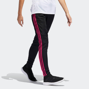 Mens Adidas Soccer Tiro 19 Training Pants Track Pants In Black Real Magenta