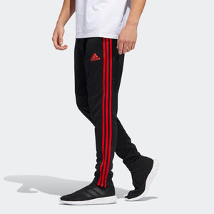Mens Adidas Soccer Tiro 19 Training Pants Track Pants In Black Red
