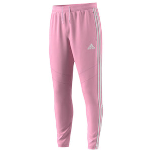 Mens Adidas Soccer Tiro 19 Training Pants Track Pants In True Pink White