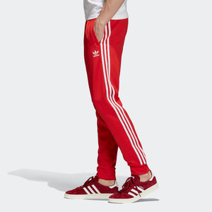 Mens Adidas Sst 1979 Training Track Pants In Collegiate Red - Simons Sportswear