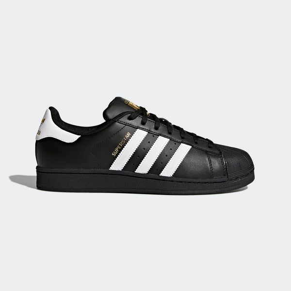 a7f481fcac36a Mens Adidas Superstar Foundation Shell Toe Classic Sneaker In Black White
