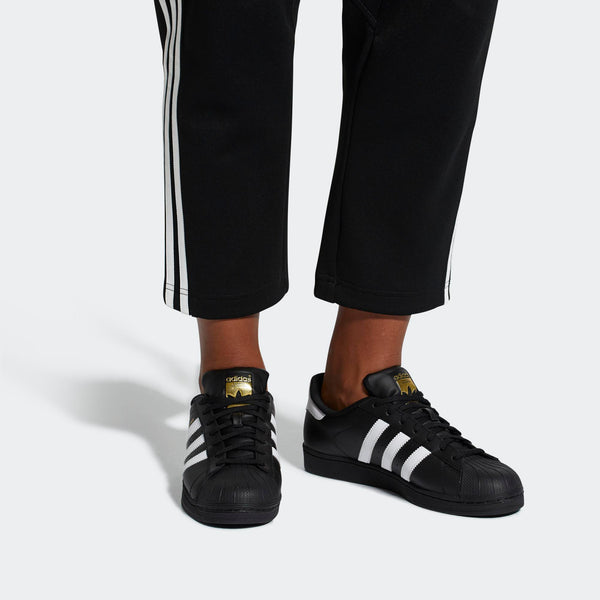 buy popular 95672 2c71c Mens Adidas Superstar Foundation Shell Toe Classic Sneaker In Black Wh -  Simons Sportswear