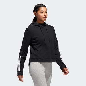 Womens Adidas Athletics Id Elevated Transitional Statement Jacket In Black
