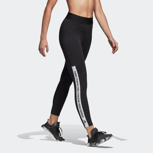 Womens Adidas Athletics Sport Id Tights Leggings In Black White