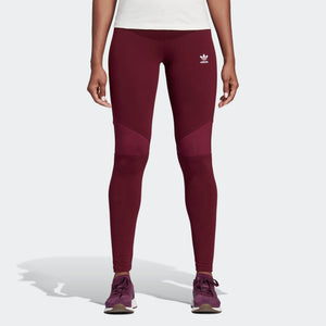 Womens Adidas Clrdo Tights Leggings In Maroon - Simons Sportswear