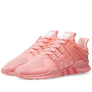Womens Adidas Eqt Support Adv Shoes In Super Pop Pink