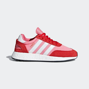Womens Adidas I-5923 Iniki Runner Sneaker In Chalk Pink Red