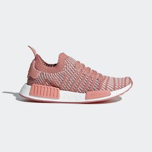 Womens Adidas Nmd R1 Stlt Primeknit Shoes In Ash Pink