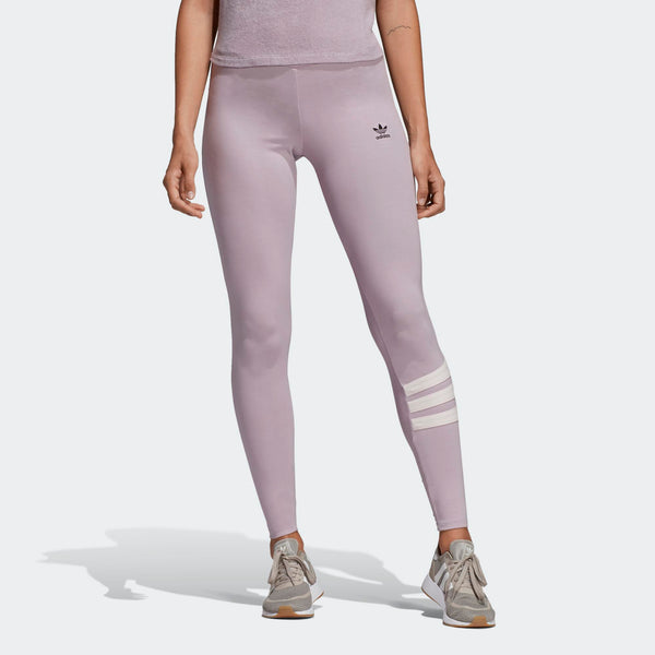 e77fdc546ffe2 Womens Adidas Originals 90s Mid Rise Tights Leggings In Soft Vision Pi - Simons  Sportswear