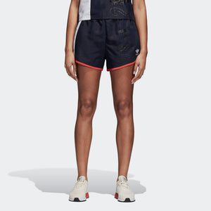 Womens Adidas Originals Active Icons Shorts In Legend Ink