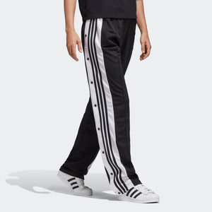 Womens Adidas Originals Adibreak Retro Track Pants In Black Carbon