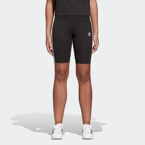 Womens Adidas Originals Bike Cycling Shorts In Black White - Simons Sportswear