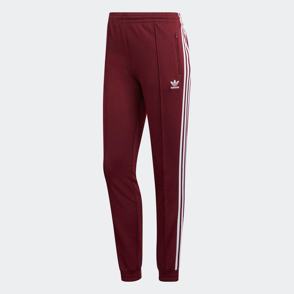 a71aa8a02 Womens Adidas Originals Clrdo Sst Track Pants In Maroon - Simons ...