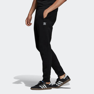 Womens Adidas Originals Cozy Fleece Slim Sweatpants In Black