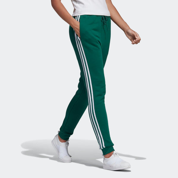 d086a5af1 Womens Adidas Originals Cuffed Jogger Track Pants In Collegiate Green -  Simons Sportswear