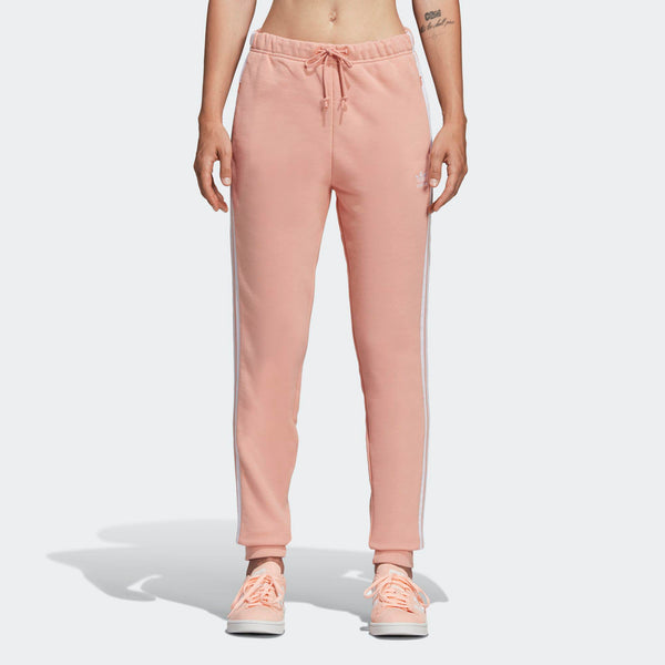 d37be72419 Womens Adidas Originals Cuffed Jogger Track Pants In Dust Pink