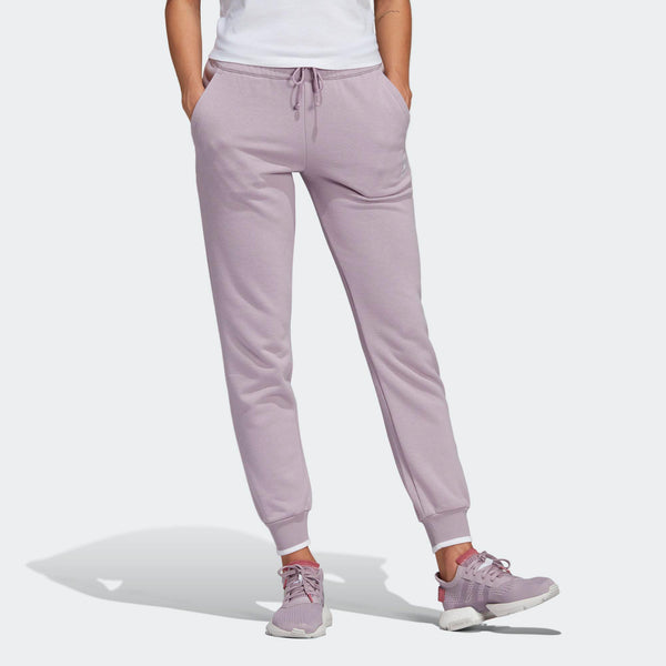 Womens Adidas Originals Cuffed Jogger Track Pants In Soft Vision ... b397eaeba4
