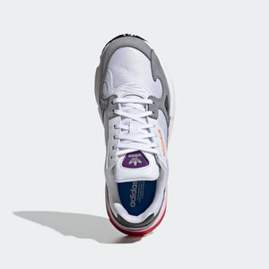 Womens Adidas Originals Falcon Kylie Shoe In Cloud White Grey