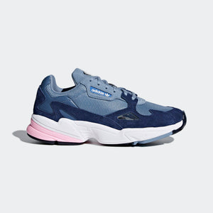 Womens Adidas Originals Falcon Kylie Shoe In Raw Grey Light Pink