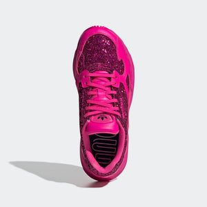 Womens Adidas Originals Falcon Kylie Shoe In Shock Pink Collegiate Purple