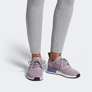 Womens Adidas Originals Nmd R1 Runner Shoe In Soft Vision Raw Indigo - Simons Sportswear