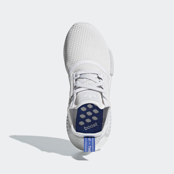 5e66d7543b519 Womens Adidas Originals Nmd R1 Shoes In Crystal White Lilac - Simons  Sportswear
