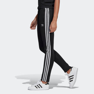 Womens Adidas Originals Sst Track Pants In Black White