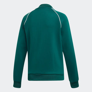 Womens Adidas Originals Sst Track Jacket In Collegiate Green