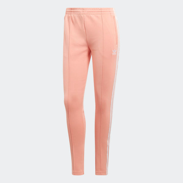 Womens Adidas Originals Sst Track Pants In Dust Pink