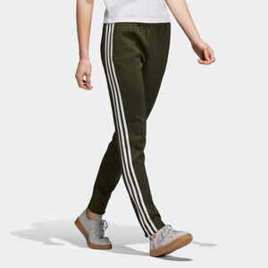 Womens Adidas Originals Sst Track Pants In Night Cargo - Simons Sportswear