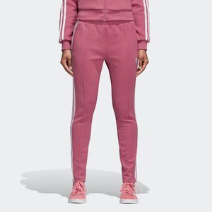 Womens Adidas Originals Sst Track Pants In Trace Maroon - Simons Sportswear