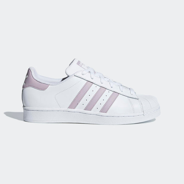 f1d8664cc1781 Womens Adidas Originals Superstar Shell Toe Sneaker In White Soft Vision