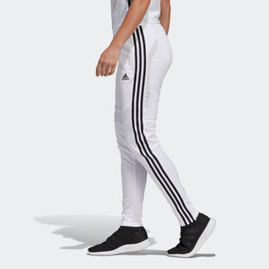 Womens Adidas Soccer Tiro 19 Training Pants Track Pants In White Black