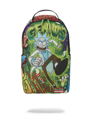 Sprayground® Rick and Morty: Genius Backpack