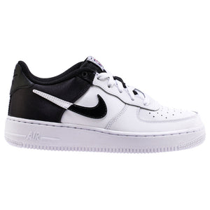 Big Kids Nike Air Force 1 Low NBA in Black / White - Simons Sportswear