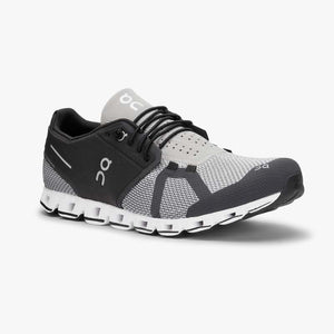 "Mens OnRunning ""Cloud"" Running Shoe (Black/Slate) - Simons Sportswear"