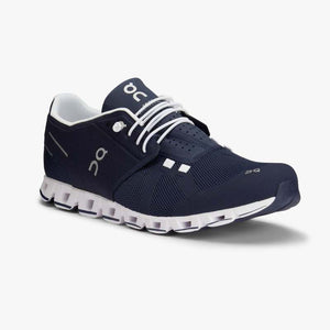 "Mens OnRunning ""Cloud"" Running Shoe (Navy/White) - Simons Sportswear"