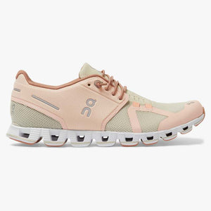 "Women's OnRunning ""Cloud"" Running Shoe (Rose/Sand) - Simons Sportswear"