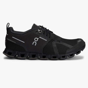 "Women's OnRunning ""Cloud Waterproof"" Running Shoe (Black/Lunar) - Simons Sportswear"