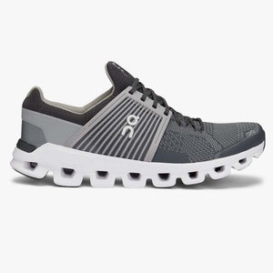 "Mens OnRunning ""Cloudswift"" Training Sneaker (Rock/Slate) - Simons Sportswear"