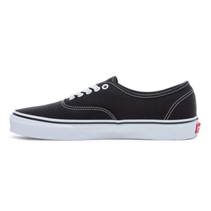 Mens Vans Authentic Skate Shoe In Black - Simons Sportswear
