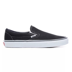 Mens Vans Classic Slip-On Skate Shoe In Black - Simons Sportswear
